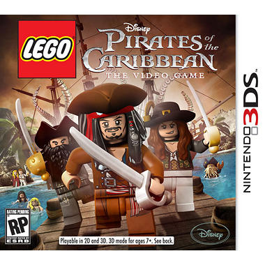 LEGO Pirates of the Caribbean - 3DS