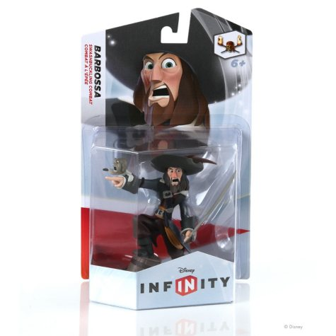 Disney Infinity Single Figure Pack - Capt. Barbossa