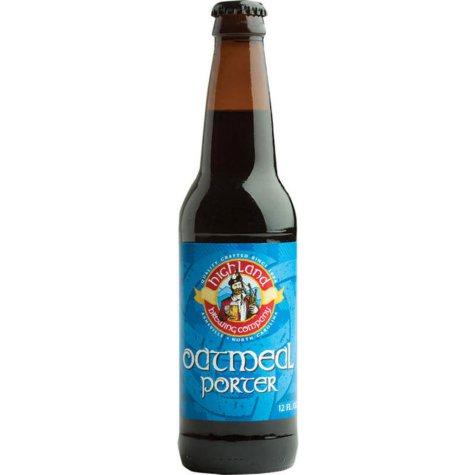 Highland Brewing Oatmeal Porter (12 fl. oz. bottle, 6 pk.)