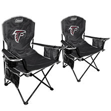 NFL Atlanta Falcons Cooler Quad Chair 2 Pack