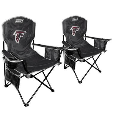 NFL Atlanta Falcons Cooler Quad Chair 2 Pack