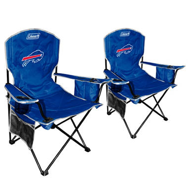 NFL Buffalo Bills Cooler Quad Chair 2 Pack