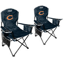 NFL Chicago Bears Cooler Quad Chair 2-Pack