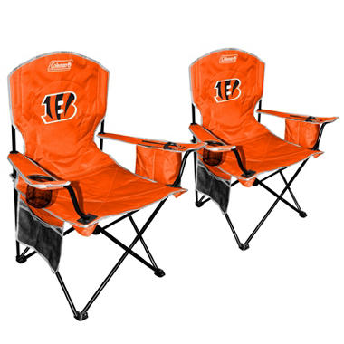 NFL Cincinnati Bengals Cooler Quad Chair 2 Pack