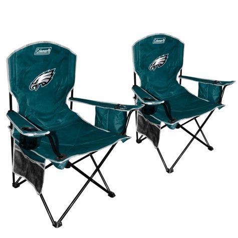 NFL Philadelphia Eagles Cooler Quad Chair 2 Pack