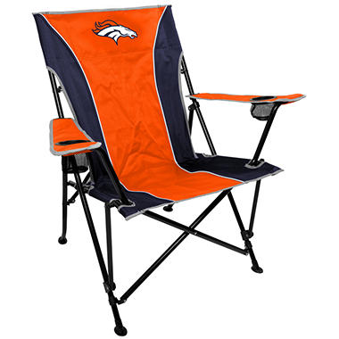NFL Denver Broncos Deluxe Tailgate Chair
