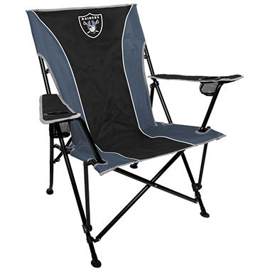 NFL Oakland Raiders Deluxe Tailgate Chair
