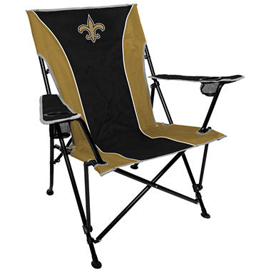 NFL New Orleans Saints Deluxe Tailgate Chair