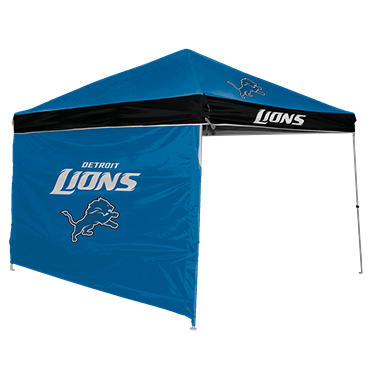 NFL Detroit Lions Canopy 9 x 9 with Wall  sc 1 st  Samu0027s Club & NFL Detroit Lions Canopy 9 x 9 with Wall - Samu0027s Club