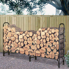 Landmann Log Rack with Cover - 8'
