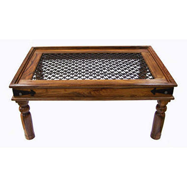 Rustic Indian Rosewood Coffee Table