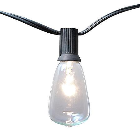 Edison Style String Lights, Set of 2 (20 lights)