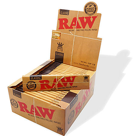 Raw Classic King Size Slim (32 papers, 50 ct.)