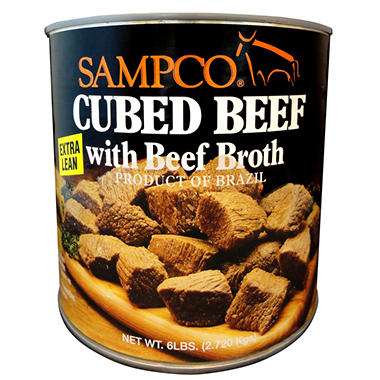 Sampco Beef in Broth (6 lbs.)