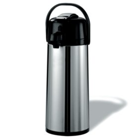 Member's Mark Stainless Steel 2.2 L Airpot w/Lever