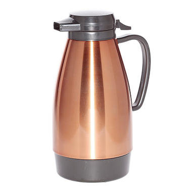 Push-Button Metallic Server, Copper/Black Accents (1L)