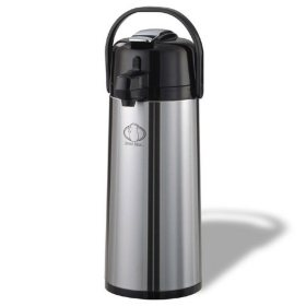 Stainless Steel 2.5 L Airpot w/Lever