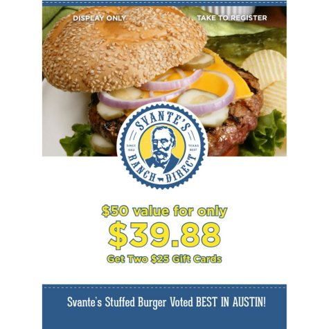 Svante's Ranch Direct - 2 x $25