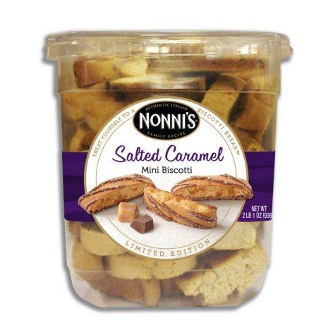 Nonni's Salted Caramel Mini Biscotti (2 lb. 1 oz.)