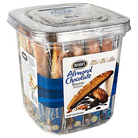 Nonni's Almond Chocolate Biscotti (31.2 oz., 24 ct.)