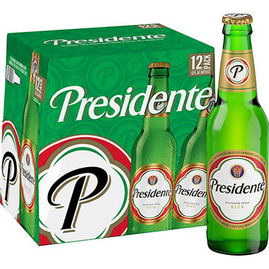 PRESIDENTE 12 / 12 OZ BOTTLES