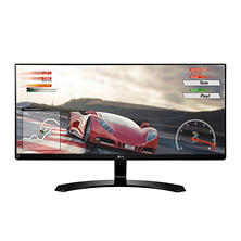 "LG 29"" 21:9 UltraWide FHD IPS Monitor with Game Mode and Black Stabilizer - 29UM68-P"