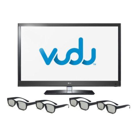 """47"""" LG 3D LED 1080p 120Hz HDTV"""