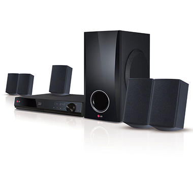LG BH5140S 3D-Capable 500W 5.1-channel Blue-ray Disc Home Theater System with Smart TV