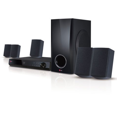 LG BH5140S 3D-Capable 500W 5.1-channel Blue-ray Disc Home Theater System
