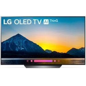 """LG 55"""" 4K HDR Smart OLED TV w/AI ThinQ - OLED55B8PUA"""