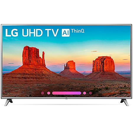 "LG 75"" Class 4K HDR Smart LED UHD TV w/AI ThinQ - 75UK6570AUA"