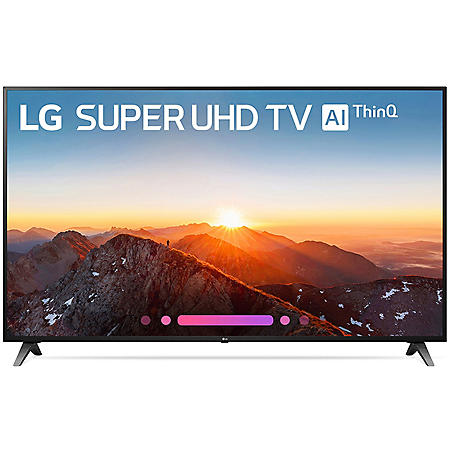 "LG 75"" Class 4K HDR Smart LED Super UHD TV w/AI ThinQ - 75SK8070AUB"