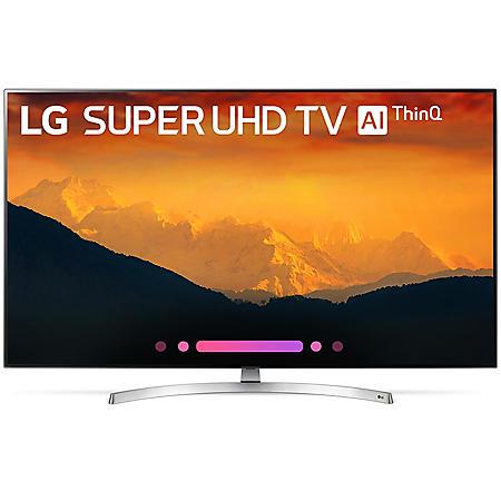 "LG 55"" 4K HDR Smart LED Super UHD TV w/AI ThinQ - 55SK9000PUA"