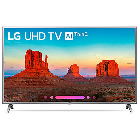 "LG 50"" Class 4K HDR Smart LED AI UHD TV w/ThinQ - 50UK6500AUA"