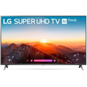 "LG 55"" Class 4K HDR Smart LED Super UHD TV w/AI ThinQ - 55SK8000AUB"