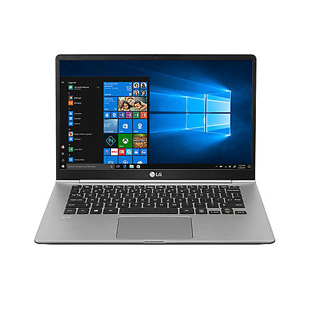 "LG gram - 14"" Full HD  Ultra-Lightweight Touchscreen Laptop - 8th Gen Intel Core i7 - 16GB Memory - 256GB SSD Storage - Backlit Keyboard - 1 Year Warranty - Windows 10 Home"