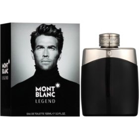 Mont Blanc Legend Eau de Toilette for Men, 3.3 fl. oz.