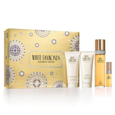 Elizabeth Taylor White Diamonds Ladies' 4 Piece Gift Set