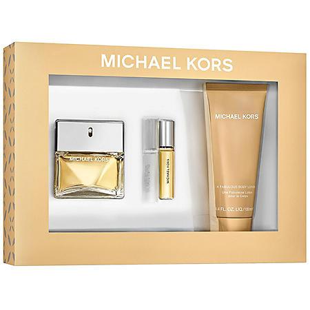 Michael Kors Ladies 3 Piece Gift Set