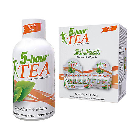 5-Hour Tea Peach (24pk / 1.93oz)