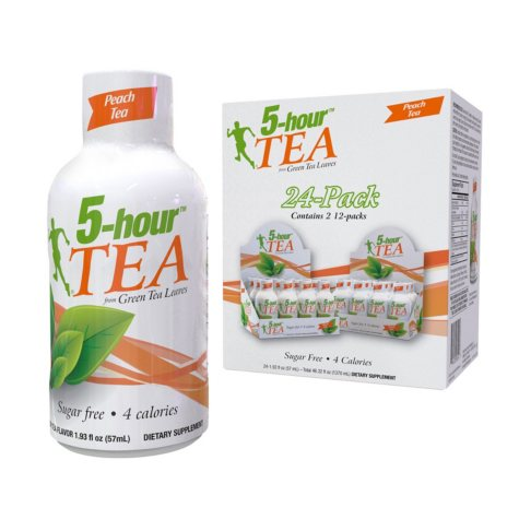 5-Hour Tea, Peach Tea Flavor (1.93 oz., 24 pk.)