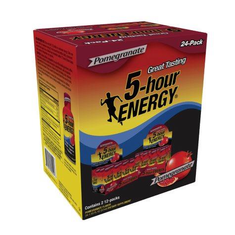 5-Hour Energy Shot, Pomegranate (1.93 oz. ea., 24 pk.)
