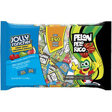 PELON PELO RICO and JOLLY RANCHER Hard Candy Assortment (31.27 oz., 150 ct.)