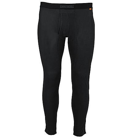 Omniwool Men's Black Thermal Base Layer Pant