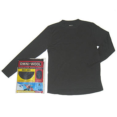 Omni-Wool Men's Insulated Base Layer Crew Top