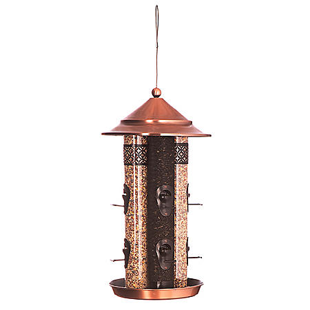 4-Tube Bird Feeder