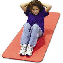 Ribbed Multi Purpose Fitness/Rehab Mat