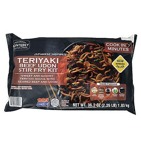 Monterey Gourmet Teriyaki Beef Udon Stir Fry Kit (35 oz.)