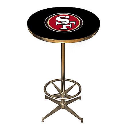 PUB TABLE SAN FRANCISCO 49ERS