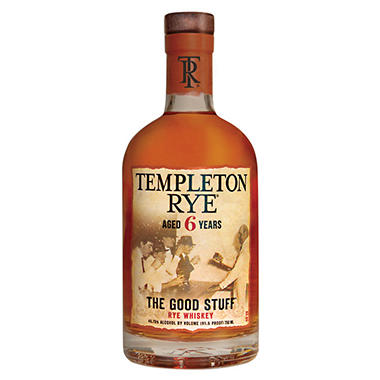 Templeton Rye Aged 6 Years Rye Whiskey (750 ml)